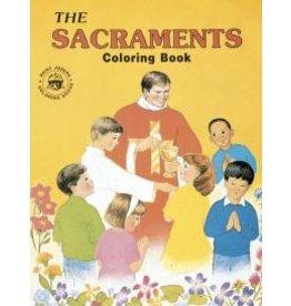 Catholic Book Publishing Coloring Book - Sacraments