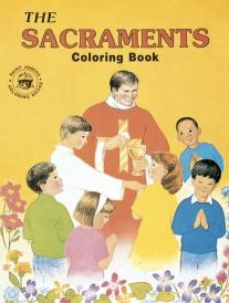 Catholic Book Publishing Coloring Book - Sacraments - Joyful Spirit ...