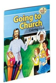 Coloring Book - Going to Church