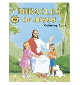 Catholic Book Publishing Coloring Book - Miracles of Jesus