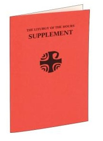 LITURGY OF THE HOURS (Supplement)