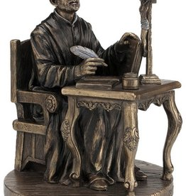 St. Ignatius-Loyola Statue, Cold-cast Bronze, 6.5 inches