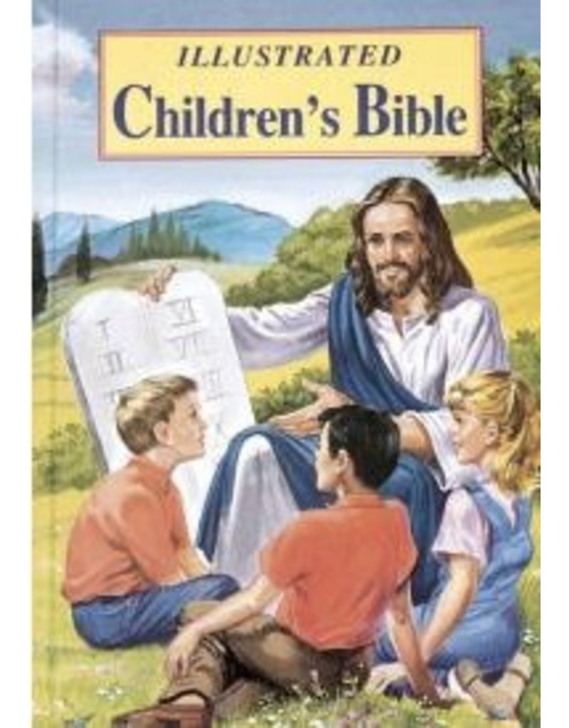 Catholic Book Publishing ILLUSTRATED CHILDREN'S BIBLE: POPULAR STORIES FROM THE OLD AND NEW TESTAMENTS