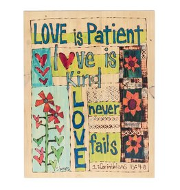 Ganz Painted Love Is Patient