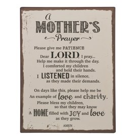 Plaque: Mother's Prayer