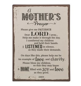 Ganz Plaque: Mother's Prayer