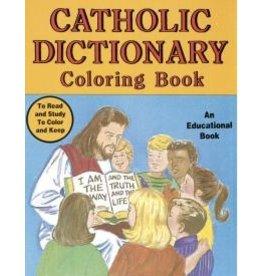 Catholic Book Publishing Catholic Dictionary Coloring Book