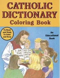 Catholic Dictionary Coloring Book