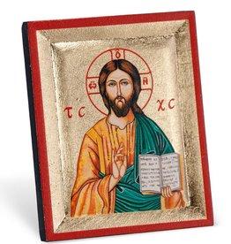 CHRIST THE TEACHER MINI ICON PLAQUE