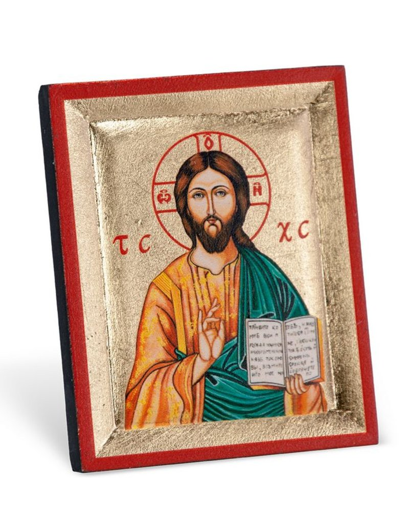 William J. Hirten Co., LLC CHRIST THE TEACHER MINI ICON PLAQUE