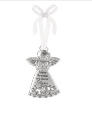 Angel Ornament -  To a Special Teacher at Christmas