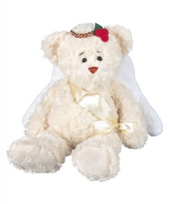 "Angelina Angel Christmas Bear (14"")"