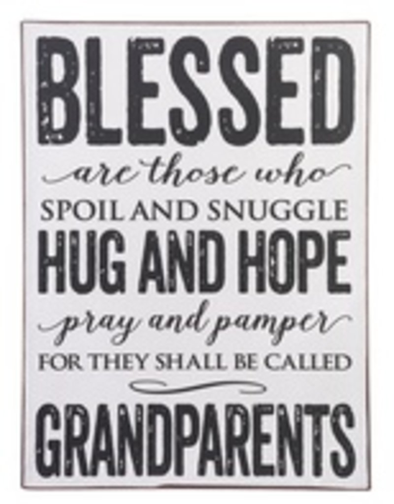 Ganz Sign - Blessed are those who spoil and snuggle...