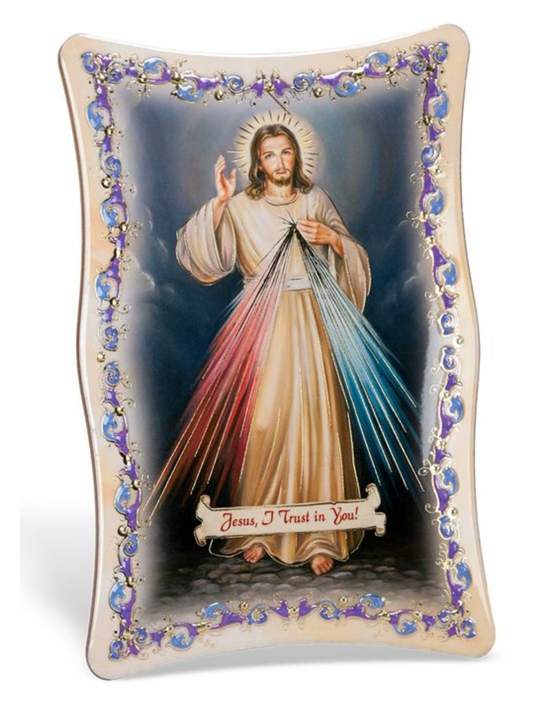 William J. Hirten Co., LLC Divine Mercy 4X6 PLAQUE
