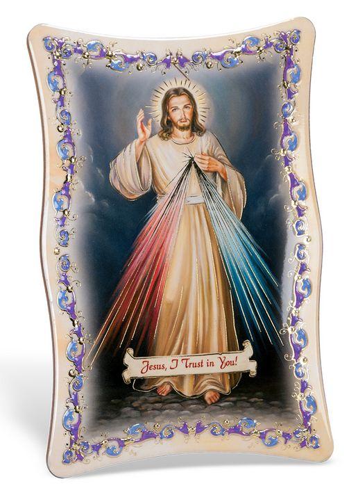 Divine Mercy 4X6 PLAQUE