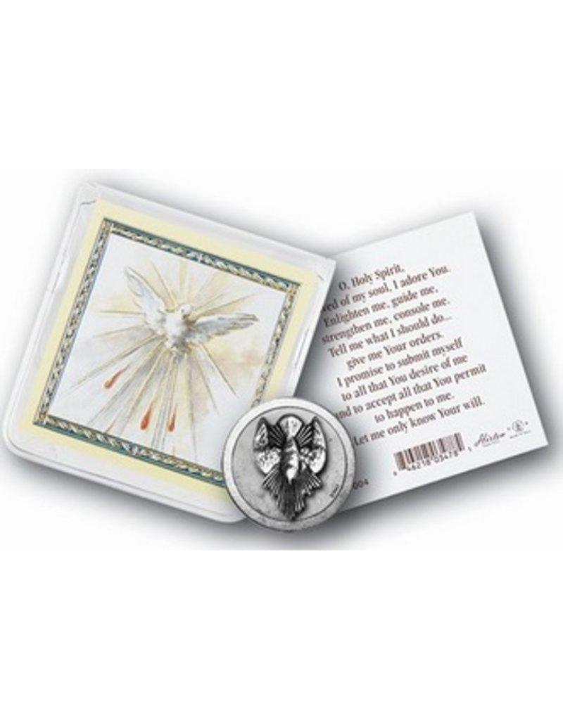 William J. Hirten Co., LLC HOLY SPIRIT POCKET COIN WITH HOLY CARD