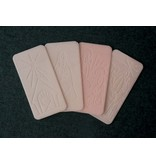 Christmas Wafers - Envelope of 3 White, 1 Pink