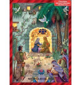 Peaceful Nativity Chocolate Advent Calendar