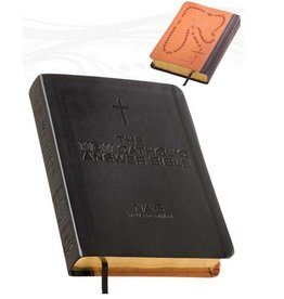 The NEW Catholic Answer Bible Librosario NABRE (Black) LARGE PRINT