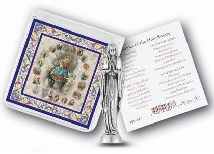 Our Lady of the Rosary Pocket Statue
