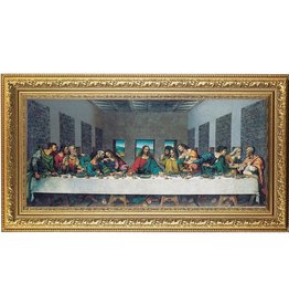 "William J. Hirten Co., LLC The Last Supper - DaVinci (14 1/2"" x 26"")"