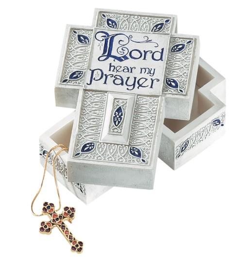 Hear My Prayer Keepsake Box