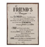 Plaque - Friend's Prayer