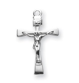Sterling Silver Narrow Crucifix
