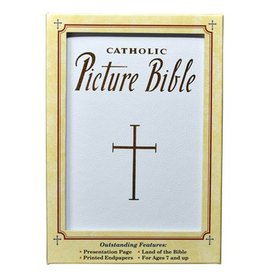 Catholic Picture Bible (White)