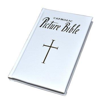 Catholic Picture Bible (White)