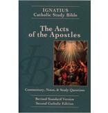 Acts of the Apostles (2nd Ed.) - Ignatius Catholic Study Bible (paperback)