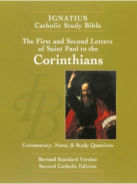 First and Second Letter of St. Paul to the Corinthians (2nd Ed.) - Ignatius Catholic Study Bible (paperback)