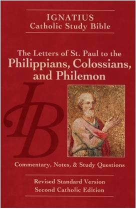 Letters of St. Paul to the Philippians, Colossians, and Philemon - Ignatius Catholic Study Bible (paperback)