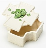 "3.25""H CROSS KEEPSAKE BOX"