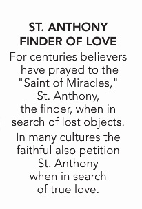 "10""H ST ANTHONY FINDER OF LOVE FIGURE"