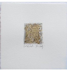 Lori Doody Lori Doody-Mini Capelin Etching/Gold Leaf=1.25x1