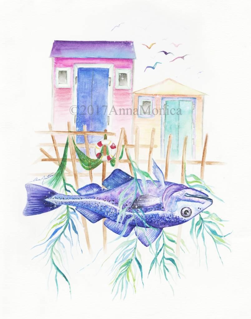 Anna Monica Anna Monica-Watercolor Print Series