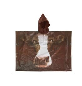 North American Country Home NACH-Kids Poncho Farm Animals