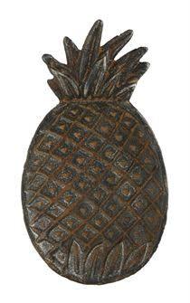 Creative Co-op Creative Co-Op-Cast Iron Pineapple Dish -Distressed