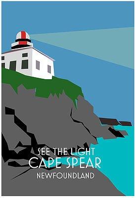 Junk Junk-Poster-Cape Spear-12x18