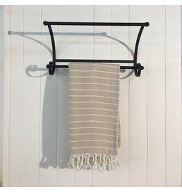One Sky Inc. One Sky-Bamboo Hamam Towel- Sand/White Lines