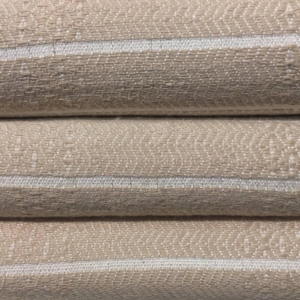 One Sky Inc. One Sky-Bamboo Hamam Body Towel- Sand/White Lines