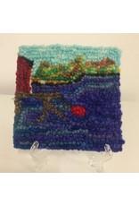 Newfoundland Original Hooked Rugs Paula Flood-Rughooked Mini Art