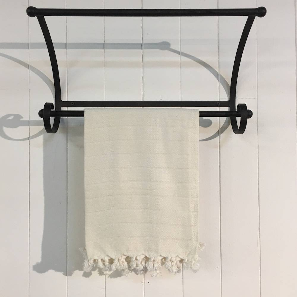 One Sky Inc. One Sky-Bamboo Hamam Hand Towel- White