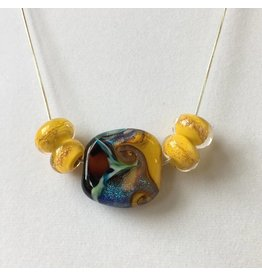 Beads By The Sea Beads By The Sea-Large Glass Bead Pendant-20""