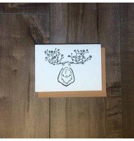 Kaila Erb Art&Illustration Kaila Erb-Moose Card-5x7