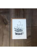 Kaila Erb Art&Illustration Kaila Erb-Storm's a Brewin Card-5x7
