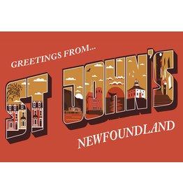 Joel E Hunt Joel Hunt-Greetings Postcard