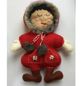 Metis Art-Inuit Doll