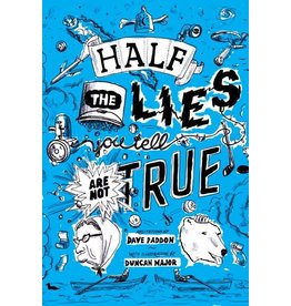 Running the Goat, Books & Broadsides Inc. Half the Lies You Tell Book